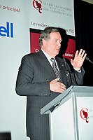 Montreal (QC) CANADA,Oct 19 2009-Raymond Chretien , AT THE CANADIAN CLUB OF MONTREAL'S PODIUM.