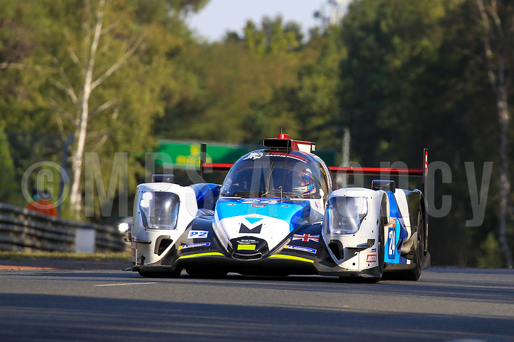 #24 NIELSEN RACING (GBR) ORECA 07 GIBSON LMP2 GARRET GRIST (CAN) ALEX KAPADIA (GBR)  ANTHONY WELLS (GBR)