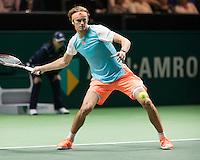 ABN AMRO World Tennis Tournament, Rotterdam, The Netherlands, 15 Februari, 2017, Alexander Zverev (GER)<br /> Photo: Henk Koster