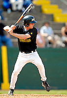 21 April 2007: University of Vermont Catamounts' Nate Matusick, a Sophomore from Corning, NY, in action against the University of Hartford Hawks at Historic Centennial Field, in Burlington, Vermont...Mandatory Photo Credit: Ed Wolfstein Photo