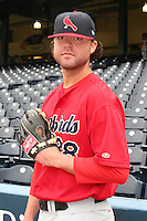 Memphis Redbirds pitcher Andy Cavazos #38 during warmups before the Triple-A All-Star Game at Fifth Third Field on July 12, 2006 in Toledo, Ohio.  (Mike Janes/Four Seam Images)