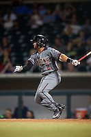 Salt River Rafters Jamie Westbrook (2), of the Arizona Diamondbacks organization, during a game against the Mesa Solar Sox on October 22, 2016 at Sloan Park in Mesa, Arizona.  Salt River defeated Mesa 7-2.  (Mike Janes/Four Seam Images)
