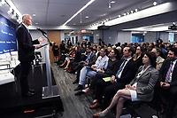 Washington, DC - June 20, 2019: U.S. Senator Rick Scott speaks at the Atlantic Council in Washington D.C., June 20, 2019.  (Photo by Lenin Nolly/Media Images International)