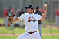 January 17, 2010:  Eric Gutierrez (Tucson, AZ) of the Baseball Factory National Team during the 2010 Under Armour Pre-Season All-America Tournament at Kino Sports Complex in Tucson, AZ.  Photo By Mike Janes/Four Seam Images
