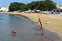 Strand von Sal Rei, Boa Vista, Kapverden, Afrika