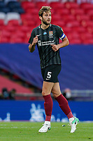 Charlie Goode of Northampton Town during the Sky Bet League 2 PLAY-OFF Final match between Exeter City and Northampton Town at Wembley Stadium, London, England on 29 June 2020. Photo by Andy Rowland.