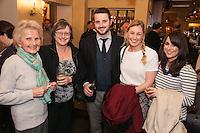 Pictured from left are Joan White, Jill Horton, Jack Horton of Buttercross Estates, Kirsty Johnson and Lynsey Blackburn