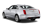 Car pictures of rear three quarter view of a 2019 Cadillac CTS Luxury 4 Door Sedan angular rear