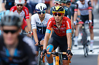 8th July 2021; Nimes, France;TEUNS Dylan (BEL) of BAHRAIN VICTORIOUS  during stage 12 of the 108th edition of the 2021 Tour de France cycling race, a stage of 159,4 kms between Saint-Paul-Trois-Chateaux and Nimes.
