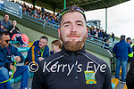 before the County Senior hurling Final between Kilmoyley and Saint Brendan's at Austin Stack park on Sunday.
