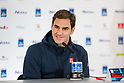 Tennis: Press conference ahead of 2018 Nitto ATP Finals