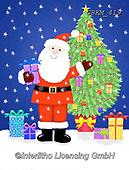 Kate, CHRISTMAS SANTA, SNOWMAN, WEIHNACHTSMÄNNER, SCHNEEMÄNNER, PAPÁ NOEL, MUÑECOS DE NIEVE, paintings+++++Santa tree and parcels,GBKM419,#x#