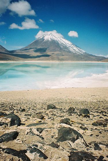 Laguna verde / Bolivia.<br /> <br /> Edición de 3 | Víctor Santamaría.