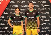 Kelsy Smith and Jacob Smith. Hockey Premier League Official Launch, Auckland Grammar Hockey Turf, Auckland, New Zealand. Photo: Simon Watts/www.bwmedia.co.nz/HockeyNZ