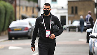 Brentford goalkeeper, David Raya, arrives at the ground ahead of kick-off during Brentford vs Preston North End, Sky Bet EFL Championship Football at Griffin Park on 15th July 2020