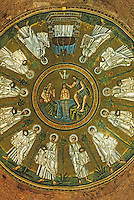 Ravenna: Baptistry of the Arians--cupola.