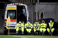 Health workers during the Serie A football match between ACF Fiorentina and Atalanta Bergamasca Calcio at Artemio Franchi stadium in Firenze (Italy), April 11th, 2021. Photo Andrea Staccioli / Insidefoto