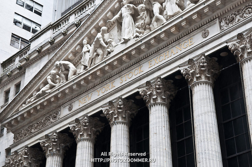 NYSE on Wall Street, Manhattan, New York City