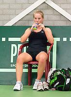 15-3-09, Rotterdam, Nationale Overdekte Jeugdkampioenschappen 12 en 18 jaar,  Richel Hogenkamp
