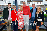 Karen Moriarty from Tralee celebrating her birthday in the Ashe Hotel on Friday. L to r: Killian Foale, Anita and Karen Moriarty, Brendan Courtney, John Moriarty and Sarah Foale.