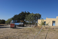 """FAO JANET TOMLINSON, DAILY MAIL <br /> Pictured: A digger and a lorry at the field where the search is taking place in Kos, Greece. Friday 30 September 2016<br /> Re: Police teams searching for missing toddler Ben Needham on the Greek island of Kos have said they are """"optimistic"""" about new excavation work.<br /> Ben, from Sheffield, was 21 months old when he disappeared on 24 July 1991 during a family holiday.<br /> Digging has begun at a new site after a fresh line of inquiry suggested he could have been crushed by a digger.<br /> South Yorkshire Police (SYP) said it continued to keep an """"open mind"""" about what happened to Ben."""