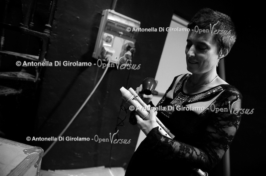 Orchestra Upter Antiqua<br /> concerto d' inaugurazione 28° anno accademico 2015/2016<br /> Teatro Eliseo Roma<br /> Maria De Martini, flauto dolce