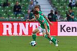 19.09.2020, wohninvest Weserstadion, Bremen, GER,  SV Werder Bremen vs Hertha BSC Berlin, <br /> <br /> <br />  im Bild<br /> <br /> Joshua Sargent (Werder Bremen #19)<br /> Yuya Osako (Werder Bremen #08)<br /> Querformat<br /> <br /> Foto © nordphoto / Kokenge<br /> <br /> DFL regulations prohibit any use of photographs as image sequences and/or quasi-video.