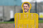 St Johnstone Training....   Hayden Muller pictured during training at McDiarmid Park ahead of Saturday's game against Rangers.<br />Picture by Graeme Hart.<br />Copyright Perthshire Picture Agency<br />Tel: 01738 623350  Mobile: 07990 594431