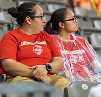 Houston, TX - Saturday June 29, 2019: NWSL regular season match between the Houston Dash and the Portland Thorns at BBVA Stadium.