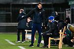 13.01.2021, xtgx, Fussball 3. Liga, VfB Luebeck - SV Waldhof Mannheim emspor, v.l. Patrick Gloeckner (Mannheim, Trainer) gibt Anweisungen, gestikuliert mit den Armen, gesticulate, gives instructions <br /> <br /> (DFL/DFB REGULATIONS PROHIBIT ANY USE OF PHOTOGRAPHS as IMAGE SEQUENCES and/or QUASI-VIDEO)<br /> <br /> Foto © PIX-Sportfotos *** Foto ist honorarpflichtig! *** Auf Anfrage in hoeherer Qualitaet/Aufloesung. Belegexemplar erbeten. Veroeffentlichung ausschliesslich fuer journalistisch-publizistische Zwecke. For editorial use only.