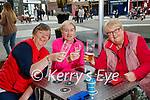 Tralee ladies pictured at An Chearnóg on Monday were l-r: Catherine Needham, Betty Carmody and Mary Sayers.