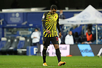 Etienne Capoue of Watford reaction to the final whistle during Queens Park Rangers vs Watford, Sky Bet EFL Championship Football at The Kiyan Prince Foundation Stadium on 21st November 2020