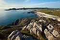 Coastline of Iona, Isle of Mull, Scotland, UK.