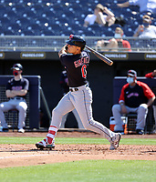 Andres Gimenez - Cleveland Indians 2021 spring training (Bill Mitchell)