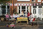 Neighbours Royal Wedding Street Party. Barnes London UK. 29 April 2011 <br /> Prince William Kate Middleton Princess Catherine