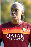 Allyson Swaby of AS Roma during the women Serie A football match between AS Roma and ACF Fiorentina at Tre Fontane Stadium in Roma (Italy), November 7th, 2020. Photo Andrea Staccioli / Insidefoto