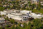 Aerial View of Kaiser Permanente, Portland, Oregon