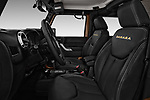 Front seat view of 2017 JEEP wrangler Sahara 5 Door SUV Front Seat  car photos