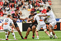 Charlie FAUMUINA of Stade Toulousain during the Top 14 Final match between Toulouse and La Rochelle at Stade de France on June 25, 2021 in Paris, France. (Photo by Anthony Dibon/Icon Sport) - Charlie FAUMUINA - Stade de France - Paris (France)