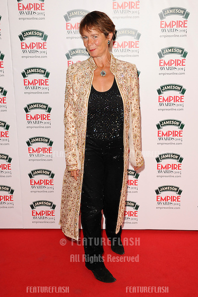 Celia Imrie<br /> arives for the Empire Magazine Film Awards 2014 at the Grosvenor House Hotel, London. 30/03/2014 Picture by: Steve Vas / Featureflash
