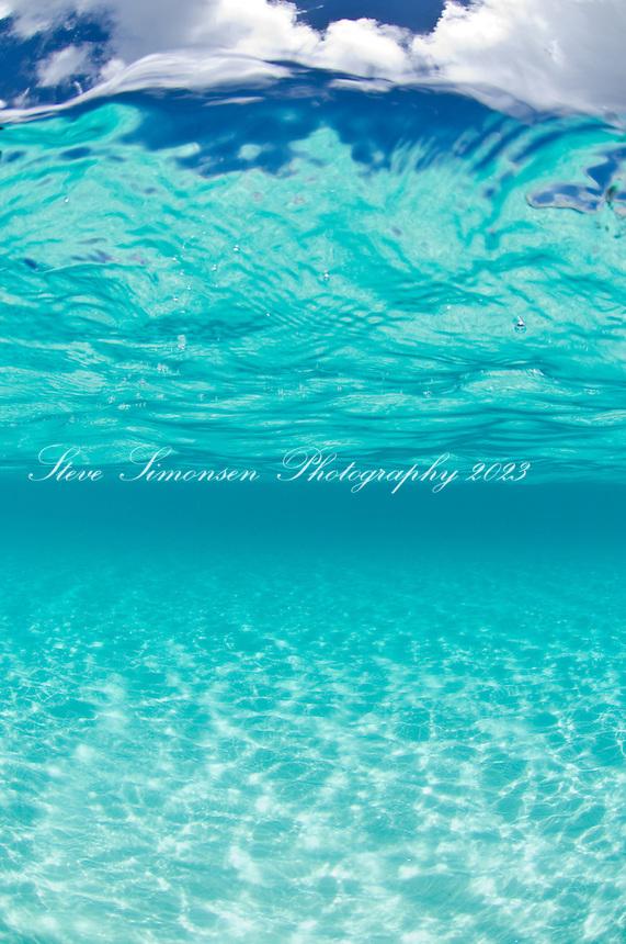Crystal clear ocean water.Trunk Bay.Virgin Islands National Park Clear turquoise Caribbean water<br /> Trunk Bay<br /> U.S. Virgin Islands