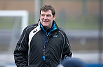 St Johnstone Training….29.01.19    McDiarmid Park<br />Manager Tommy Wright pictured during training ahead of tomorrow's game at Celtic<br />Picture by Graeme Hart.<br />Copyright Perthshire Picture Agency<br />Tel: 01738 623350  Mobile: 07990 594431