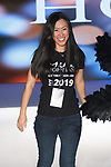 Fashion designer Mila Hoffman thanks audience for attending her Mila Hoffman Spring Summer 2020 runway show for The Society Fashion Week Spring Summer 2020 during New York Fashion Week, on September 7, 2019.