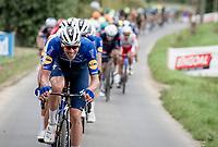 Tim Declercq (BEL/Deceuninck - Quick Step) doing Tim Declercq things in the race finale<br /> <br /> Grote Prijs Marcel Kint 2021<br /> One day race from Zwevegem to Kortrijk (196km)<br /> <br /> ©kramon
