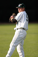 June 27th 2008:  Mitch MacDonald of the Jamestown Jammers, Class-A affiliate of the Florida Marlins, during a game at Russell Diethrick Park in Jamestown, NY.  Photo by:  Mike Janes/Four Seam Images