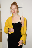 Ellie Bamber<br /> front row at the Jasper Conran London Fashion Week SS18 catwalk show, London<br /> <br /> ©Ash Knotek  D3431  15/09/2018
