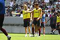 Soccer: Andres Iniesta of Vissel Kobe attends training session