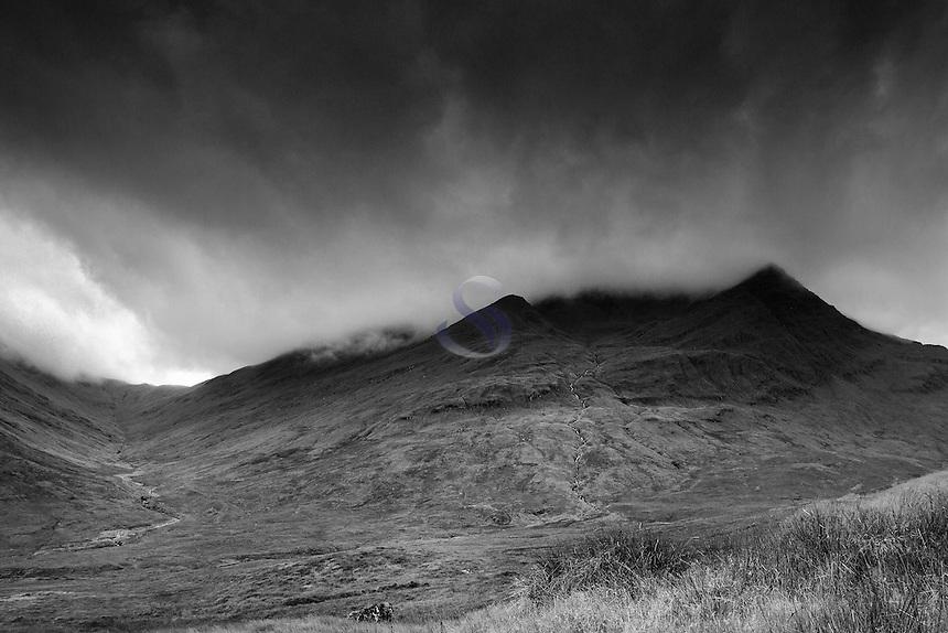 Ben Lui, Coire Ghaotach, Coire Laoigh and the Allt Coire Laoigh, Ben Lui National Nature Reserve, Stirlingshire