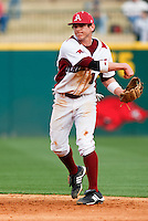 Bo Bigham (12)March 9th, 2010; South Dakata State University vs Arkansas Razorbacks at Baum Stadium in Fayetteville Arkansas. Photo by: William Purnell/Four Seam Images