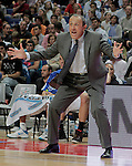 Real Madrid's coach Ettore Messina during ACB match.September 30,2010. (ALTERPHOTOS/Acero)
